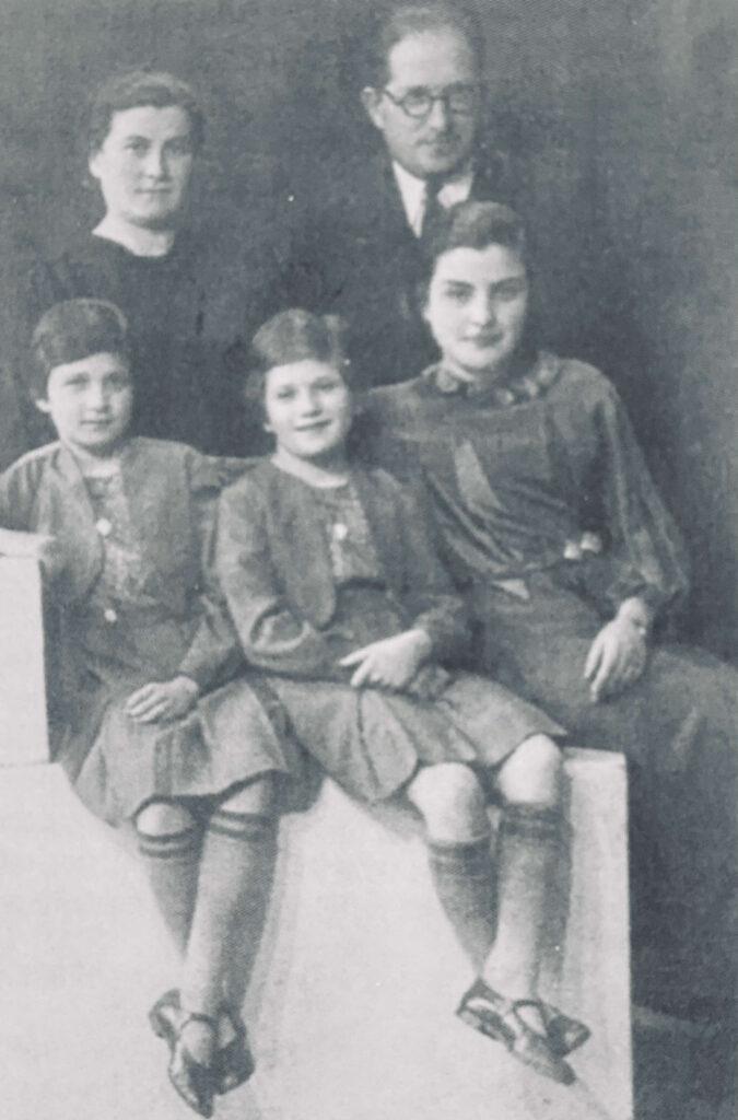 family photo Holocaust Recipes Remembered