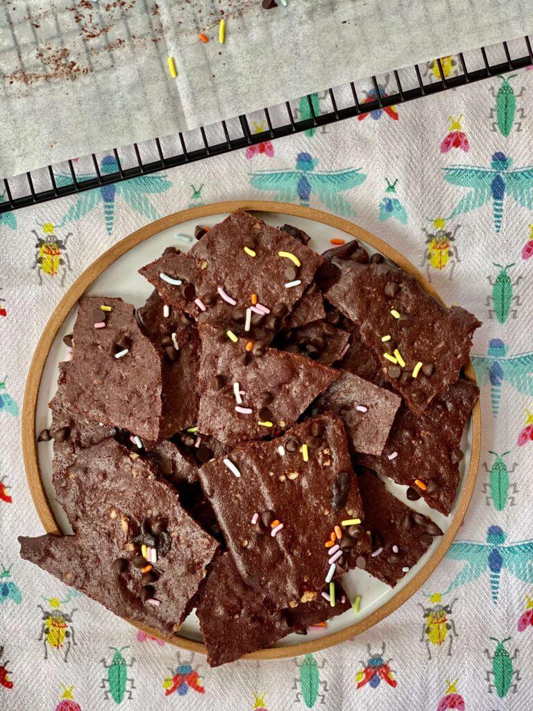 chocolate brownie thins cookies Kosher Like Me