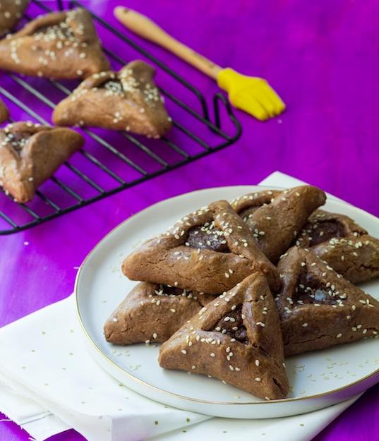 Celebrate with Chocolate Halva Hamantaschen