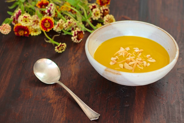 Kabocha and Coconut-Ginger Soup