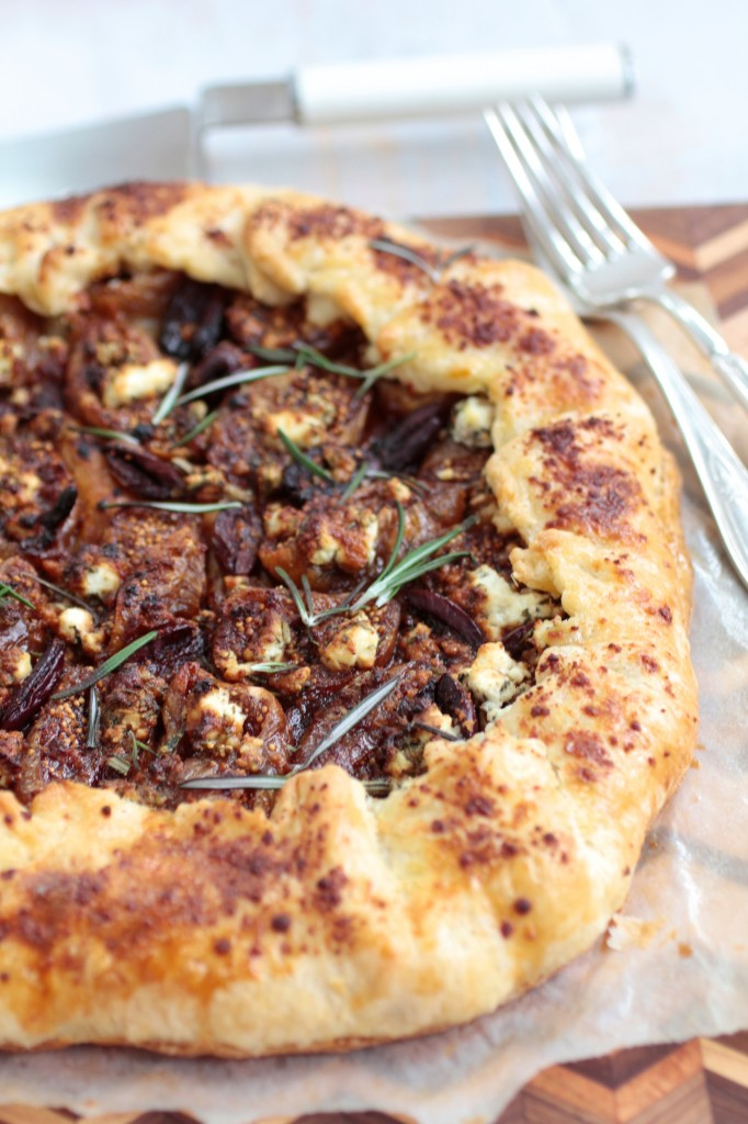 Sweet and Savory Galette for Tu b'Shvat