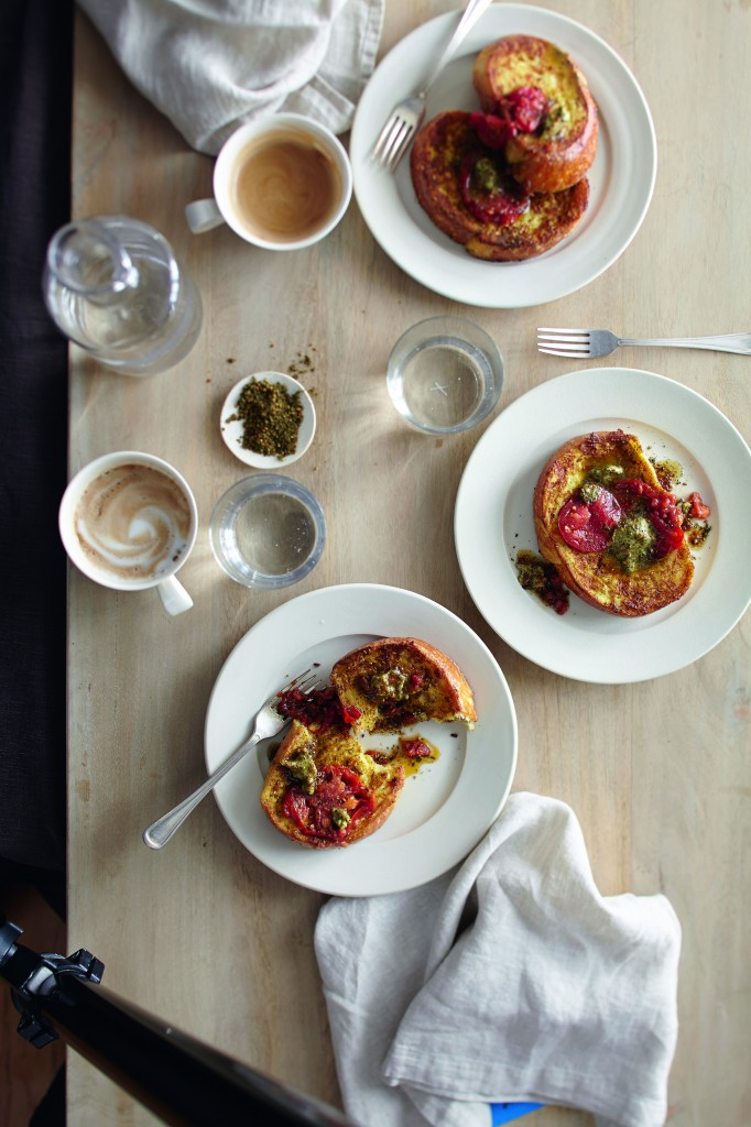 Savory French Toast Elevates Mom's Day Classic