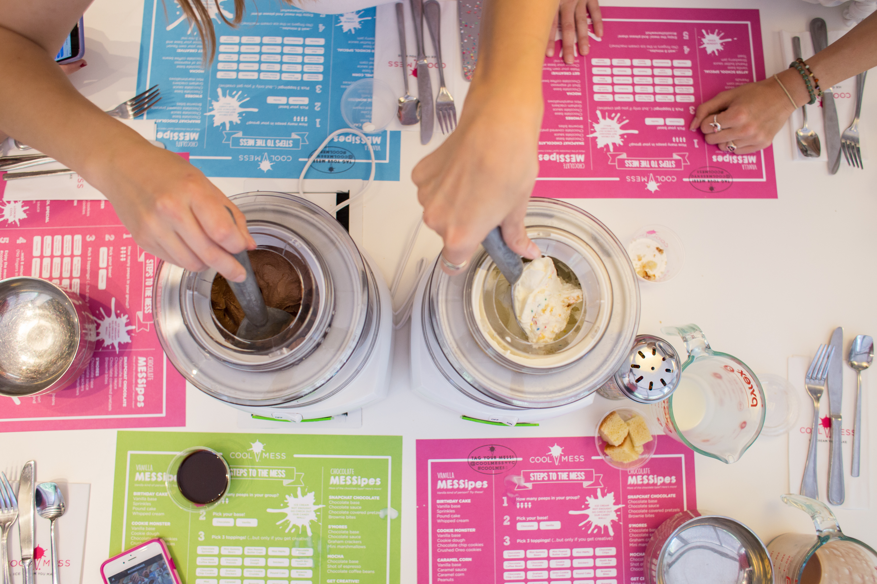 Make your own Ice Cream & Leave the Drips at CoolMess