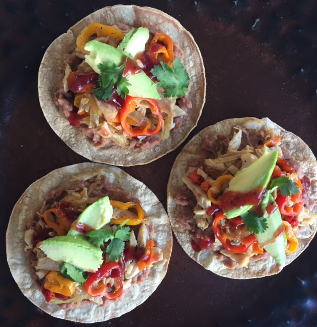Transform Leftover Turkey into Tostadas with Chipotle Cranberries