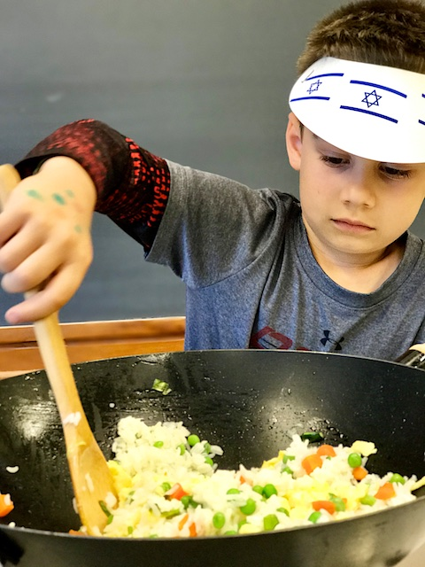 Even Kids Can Make this Fried Rice For Dad