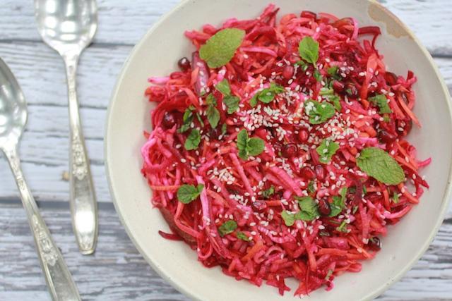 Crisp Autumn Salad Loaded with Symbolism