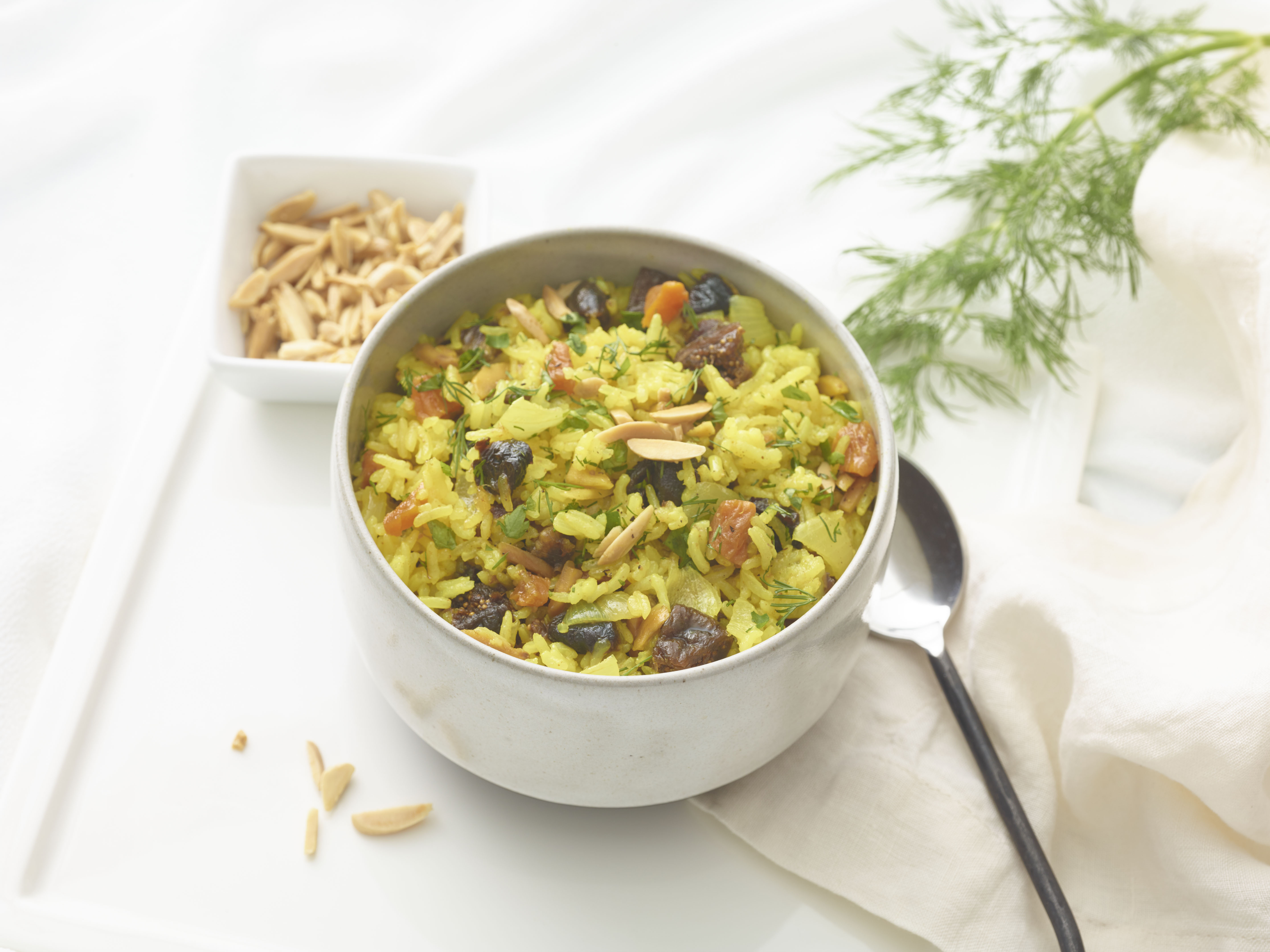 The Healthy Jewish Kitchen & Sri Lankan Rice with Dried Fruits & Nuts