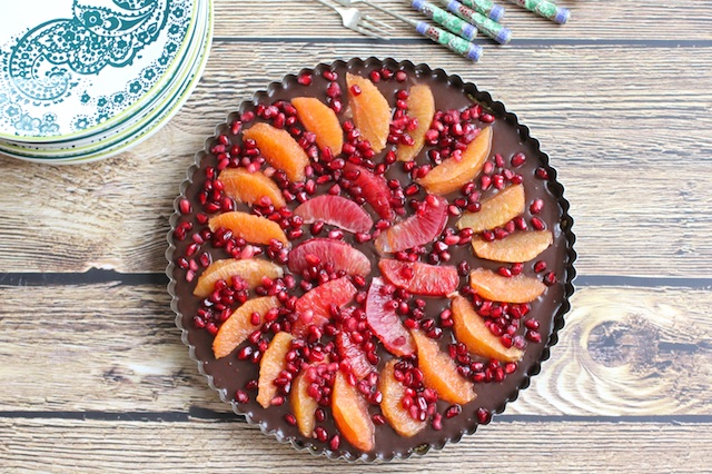 Happy Birthday Trees & Chocolate Tart
