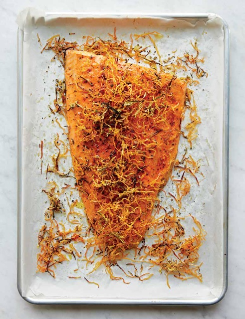 Lighten Up: Roasted Salmon during Passover