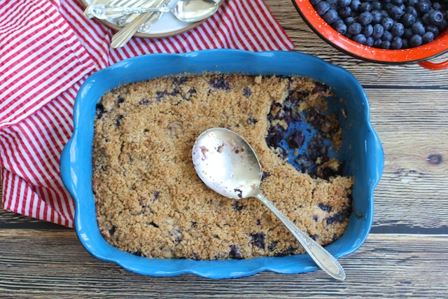 Blueberry Buckle Says Summer to Us