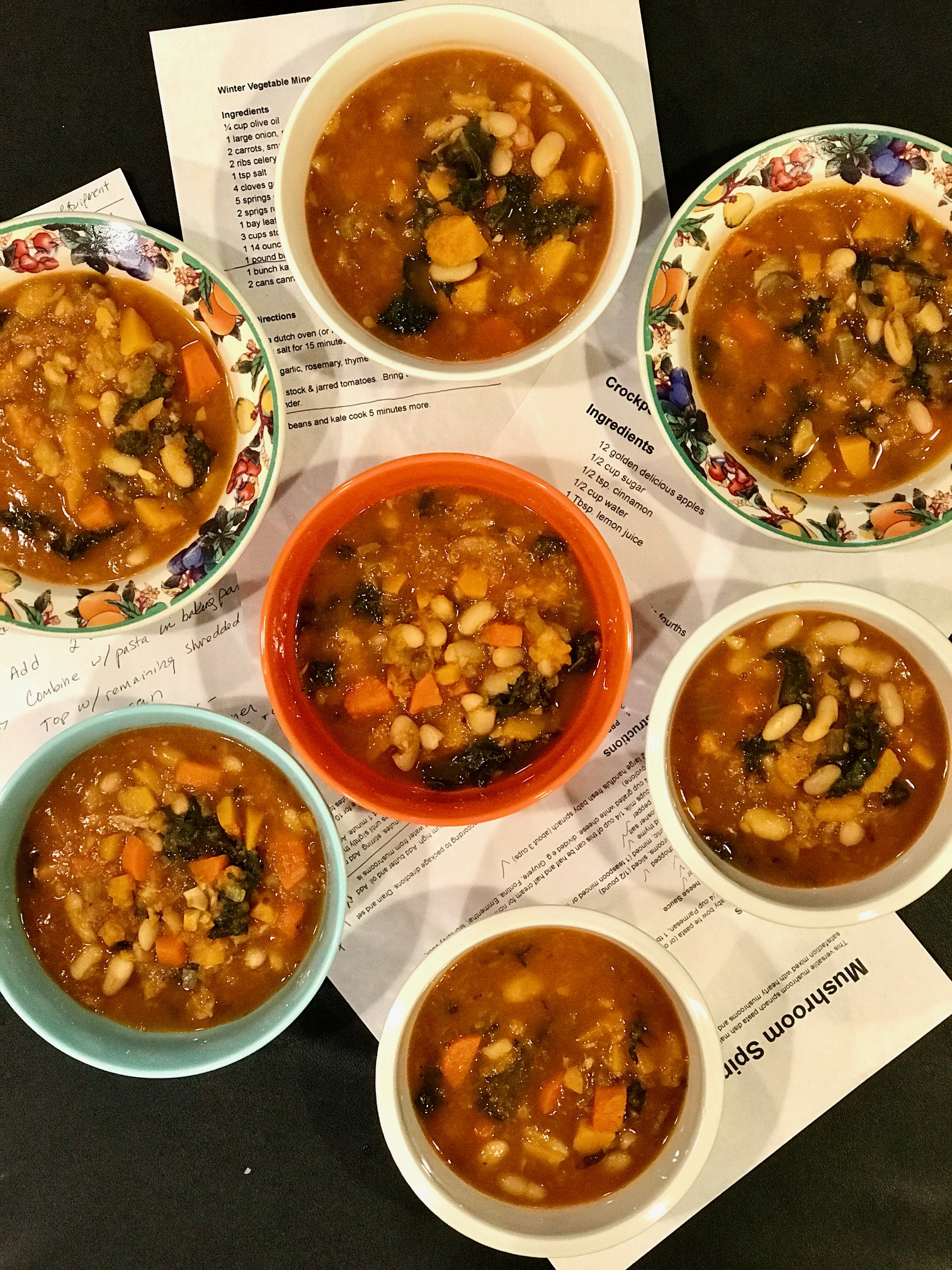More than Just a Warming Winter Vegetable Minestrone