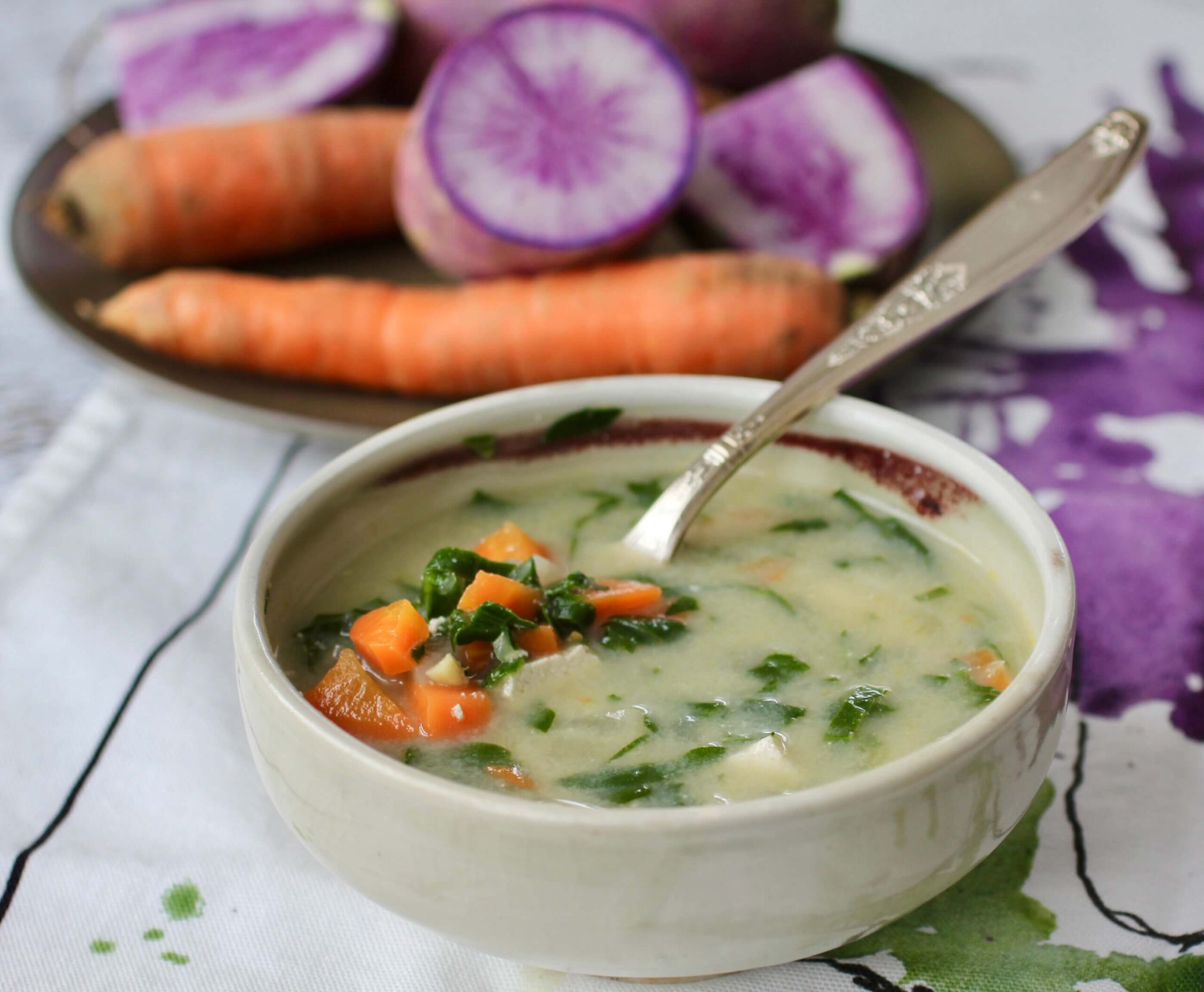 Spring Miso Soup & the Berkshires Farm Table Cookbook