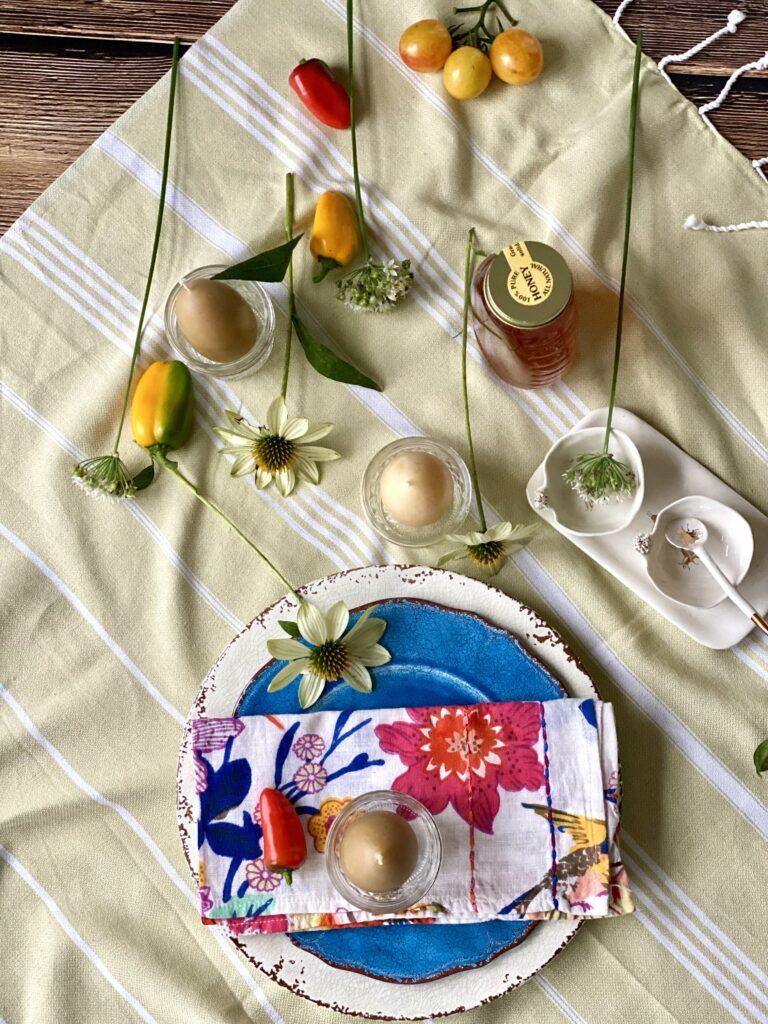Rosh HaShanah Table setting Kosher Like Me