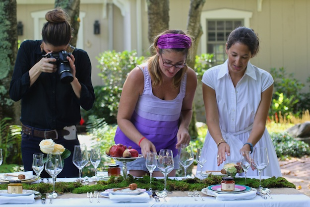 Rosh HaShanah table settings